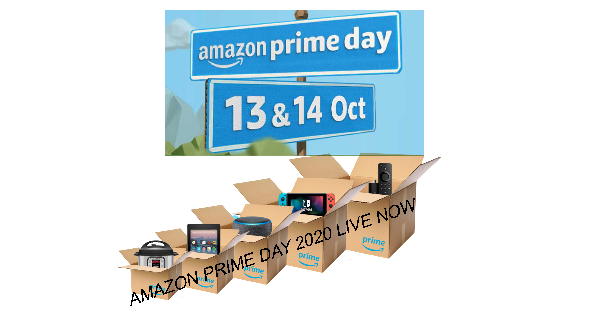 Big Save Big Deal from Amazon | Amazon Prime Day 2020 Live Now